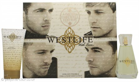 Westlife With Love Gift Set 100ml EDP + 150ml Body Lotion