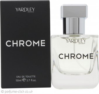 Yardley Chrome Eau de Toilette 50ml Spray