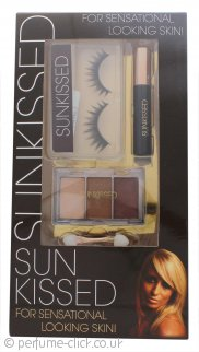 Sunkissed Lash Workshop 1 Gift Set - False Eyelashes + Adhesive + Eyeshadow Trio + Black Mascara
