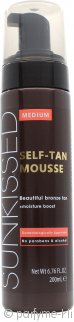 Sunkissed Instant Self Tanning Mousse 200ml - Medium Bronze