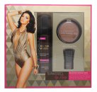 Sunkissed By Lucy Beautifully Bronzed Gift Set 120ml Tan Mousse (Dark) + 8.9g Bronzing Power (Dark) + Kabuki Style Brush