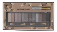 Sunkissed Natural Palette 12 x Eyeshadow + Eyelid Primer + 2 x Double-Ended Applicator