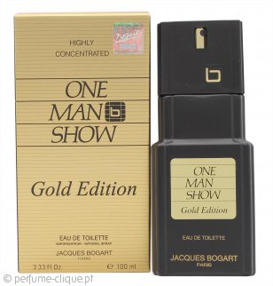 Jacques Bogart One Man Show Gold Edition Eau de Toilette 100ml Spray