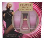 Beyoncé Heat Wild Orchid Gift Set 30ml EDP + 75ml Body Lotion + 75ml Shower Gel