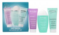 Biotherm Aquasource Day Tripper Geschenkset 20ml Biosource Reiniger + 30ml Biosource Lotion + 20ml Aquasource Gel