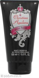 Christina Aguilera Secret Potion Douchegel 150ml
