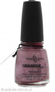 China Glaze Crackle Glaze Nail Lacquer 14ml - Haute Metal 1046