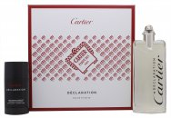 Cartier Declaration Gift Set 3.4oz (100ml) EDT + 2.5oz (75ml) Deodorant Stick