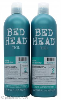 Tigi Duo Pack Bed Head Urban Antidotes Champú Recuperador 750ml + 750ml Acondicionador