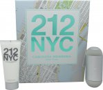Carolina Herrera 212 Femme Gift Set 100ml EDT + 100ml Body Lotion