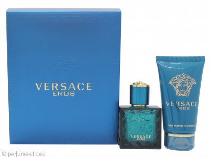 Versace Eros Gift Set 30ml EDT Spray + 50ml Gel de ducha