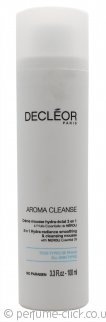Decleor Aroma Cleanse 3 in 1 Hydra-Radiance Smoothing & Cleansing Mousse 100ml - All Skin Types