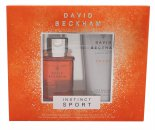 David Beckham Instinct Sport Gift Set 30ml EDT + 200ml Hair & Body Wash