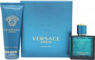 Versace Eros Gift Set 50ml EDT + 100ml Shower Gel