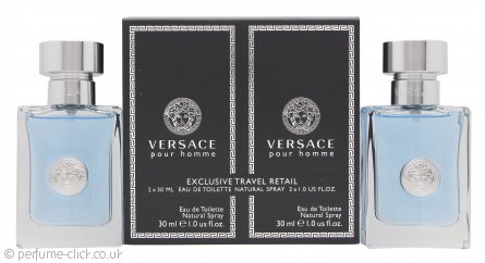 Versace pour Homme Gift Set 2 x 30ml EDT Spray