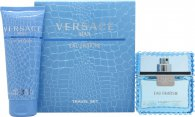 Versace Man Eau Fraiche Gift Set 1.7oz (50ml) EDT + 3.4oz (100ml) Bath & Shower Gel