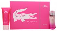 Lacoste Touch of Pink Gift Set 30ml EDT + 100ml Body Lotion