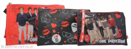One Direction Cosmetic Bags 3 pcs