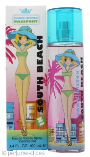 Paris Hilton Passport South Beach Eau de Toilette 100ml Vaporizador