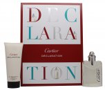 Cartier Declaration Gift Set 1.7oz (50ml) EDT Spray + 3.4oz (100ml) Shower Gel