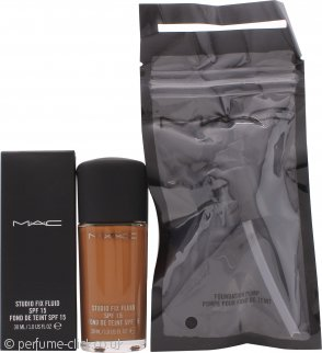MAC Studio Fix Fluid Foundation SPF15 30ml - NC50 + Pump