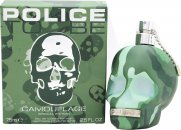 Police To Be Camouflage Eau de Toilette 75ml Vaporizador