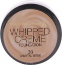 Max Factor Whipped Creme Foundation 18ml - Crystal Beige 33