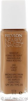 Revlon Nearly Naked Base 30ml Tostada - SPF20