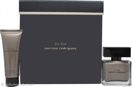 Narciso Rodriguez for Him Gift Set 50ml EDP + 75ml All-Over Shower Gel