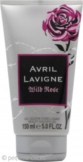 Avril Lavigne Wild Rose Gel de Ducha 150ml