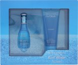 Davidoff Cool Water Woman Geschenkset 30ml EDT + 75ml Douchegel
