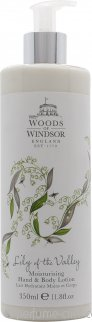 Woods of Windsor Lily of the Valley Hand & Body Lotion 350ml