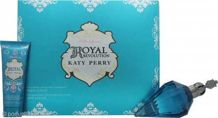Katy Perry Royal Revolution Geschenkset 100ml EDP + 75ml Body Lotion