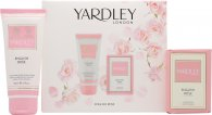 Yardley English Rose Gift Set 50ml EDT + 75ml Body Spray