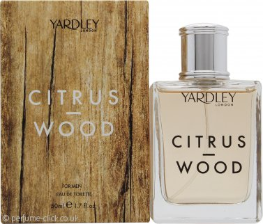 Yardley Citrus & Wood Eau de Toilette 50ml Spray