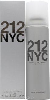 Carolina Herrera 212 Femme Refreshing Deodorant Spray 150ml
