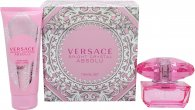 Versace Bright Crystal Absolu Gift Set 50ml EDP + 100ml Body Lotion