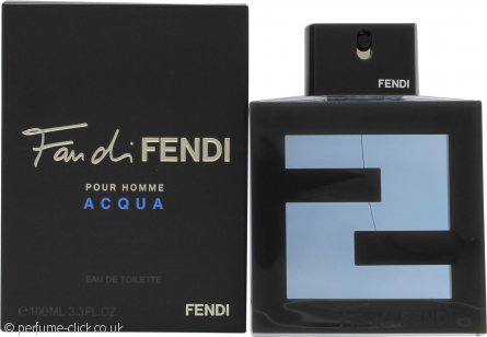 Fendi Fan di Fendi Pour Homme Acqua Eau de Toilette 100ml Spray