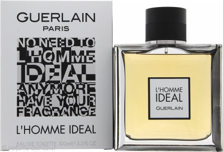 Guerlain L'Homme Ideal Eau de Toilette 100ml Spray