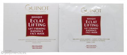 Guinot Masque Eclat Lifting Lift Máscara Facial Reafirmante Radiante 4 x 19ml