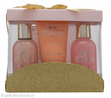 Style & Grace Utopia Mini Pamper Treats Gift Set 100ml Bath Cream + 100ml Body Wash + 70ml Body Lotion