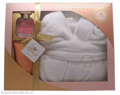 Style & Grace Utopia Extravagant Robe Set 50ml EDP + 150ml Body Lotion + Bath Robe (One Size)