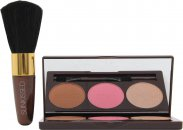 Sunkissed Bronze en Contour Geschenkset 3.5g Bronzer + 3.5g Blush + 3.5g Highlighter + Applicator + Blushkwast