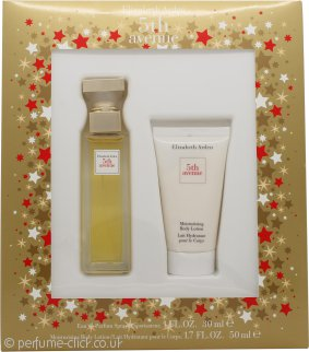 Elizabeth Arden Fifth Avenue Gift Set 30ml EDP  + 50ml Body Lotion