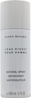 Issey Miyake L'Eau d'Issey Pour Homme Deodorant Spray 5.1oz (150ml)