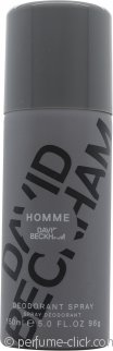 David Beckham David Beckham Homme Deodorant Spray 5.1oz (150ml)