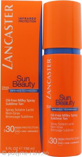 Lancaster Sun Beauty Care Oil Free Milky Spray SPF30 150ml