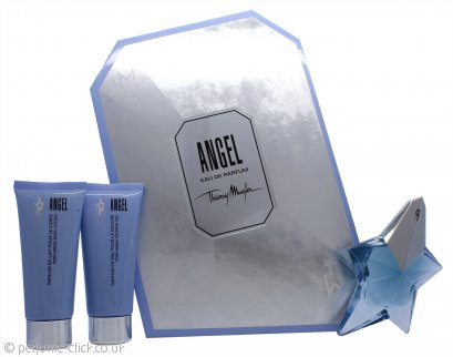 Thierry Mugler Angel Gift Set 50 EDP + 100ml Shower Gel + 100ml Body Lotion