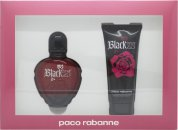 Paco Rabanne Black XS for Her Gift Set 80ml Eau de Toilette + 100ml Body Lotion