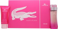 Lacoste Touch of Pink Presentset 50ml EDT + 100ml Body Lotion